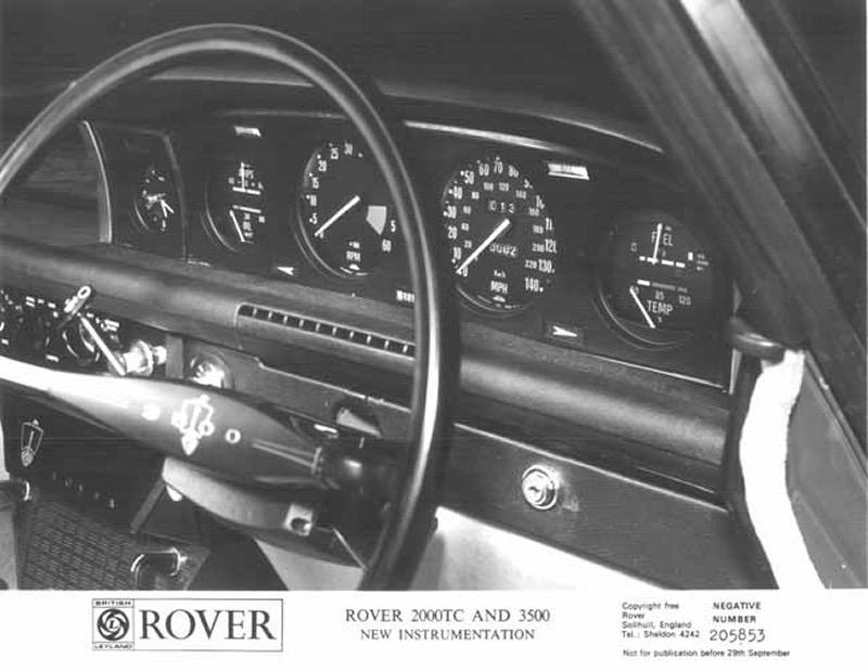 rover p6  1963