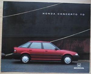 Rover 200? Non, Honda Concerto TD !