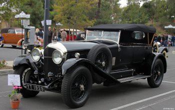 Bentley 6½ Litre Tourer de 1928, carrossée par Vanden Plas