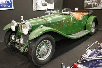 Alvis Speed 20 de 1933, carrossée par Vanden Plas