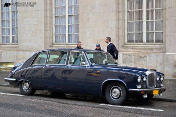 Daimler Limousine DS420, assemblée par Vanden Plas
