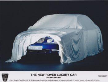 Rover lève un coin du voile sur la future Rover 75 (nom de code R40)