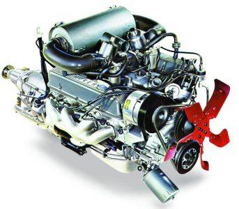 Le bloc moteur Rover V8