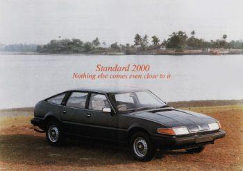 Extrait d'une publicité pour la Standard 2000