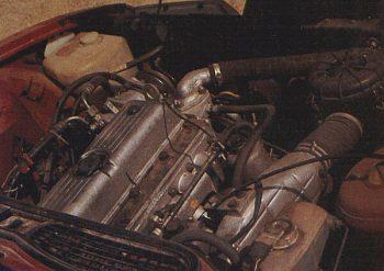 Moteur de la Standard 2000