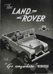 Land Rover Series I, 1948
