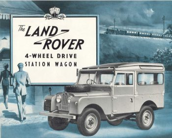 Land Rover Series I Station Wagon, 1954