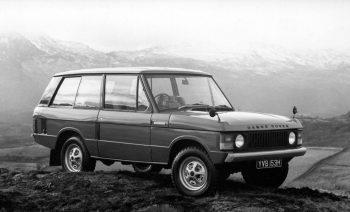 Range Rover, 1970