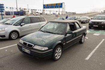 La Rover 216i Cabriolet de Lionel