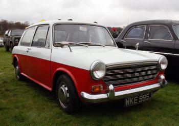 ADO16, dans sa version Morris 1100 (ici, en version deux portes)
