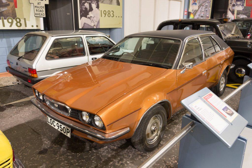 La toute dernière Wolseley assemblée, une 2200 (Princess) assemblée en 1975 et exposée au musée de Gaydon