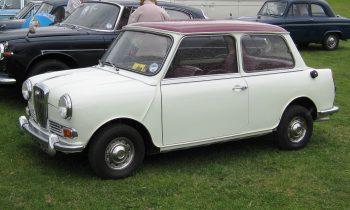 Wolseley Hornet, basée sur la Mini